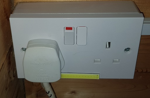 2 gang Socket Front Installed Surface Box